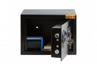Мебельный сейф GUTE ЯМХ 17Е Черный (070211)