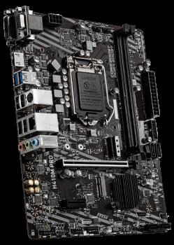 Материнська плата MSI H410M Pro (s1200, Intel H410, PCI-Ex16)