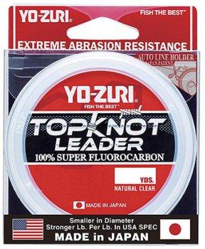 Флюорокарбон Yo-Zuri Topknot Leader 30 YDS 12 Lbs (0.285 мм) (R1227-NC)