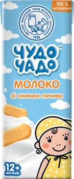 Упаковка молочного коктейля Чудо-Чадо Молоко со вкусом печенья 0.2 л х 18 шт (4820016254008)
