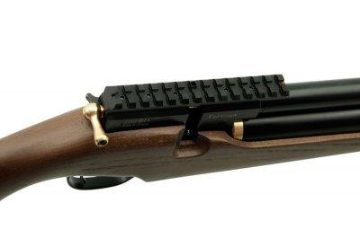 Пневматична гвинтівка ZBROIA PCP ХОРТИЦЯ 550/220 4,5 мм (коричневий/чорний)