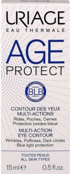 Сыворотка для контура глаз Uriage Age Protect Multi-Action Eye Contour Против морщин 15 мл (3661434006432)