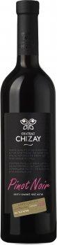 Вино Chizay Піно Нуар червоне напівсолодке 0.75 л 9-13% (4820001632927)