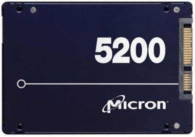 "Micron 5200 Max 480GB 2.5"" SATAIII 3D NAND TLC (MTFDDAK480TDN-1AT1ZABYY)"