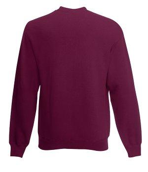 Пуловер Fruit of the Loom Classic set-in sweat kids Бордовий (062041041)
