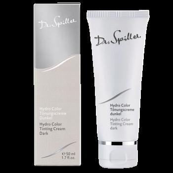 Увлажняющий тональный крем для сухой и нормальной кожи Dr. Spiller Hydro Colour Tinting Cream Dark, 50 мл Темный