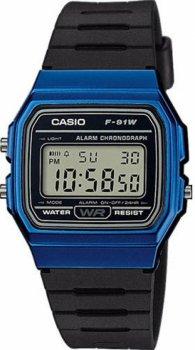 Чоловічі годинники Casio F-91WM-2AEF