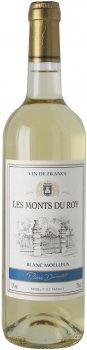 Вино Les Monts du Roy Pierre Dumontet Blanc Moelleux белое полусладкое 0.75 л 11% (3176481011907)