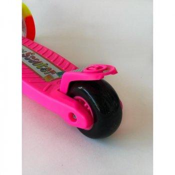 Самокат дитячий Scooter BQ 921 Рожевий