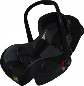 Автокрісло-переноска Happy Baby Baby Boss HB816 0-13 кг Black-grey (km9698)