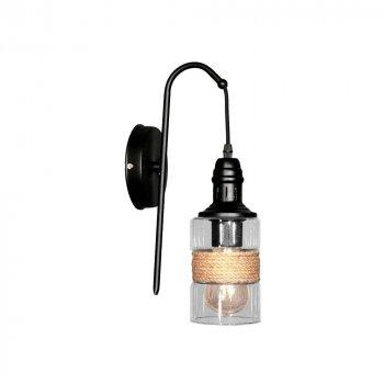 Настенный светильник - бра Лофт Skarlat Стекло Цилиндр d - 150 mm (LS 1205-1G)