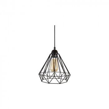 подвесные светильники Лофт Skarlat Проволока Фигурная черная d - 260 mm (LS 1201-1G)