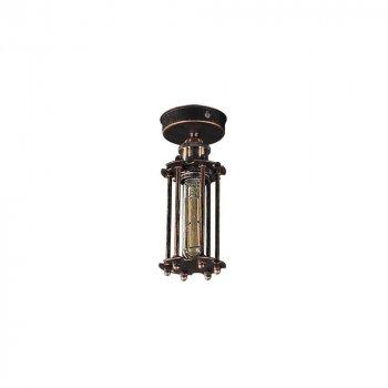 Потолочный светильник Лофт Skarlat Фонарь Антична медь h - 250 mm (LS 0106-1G)