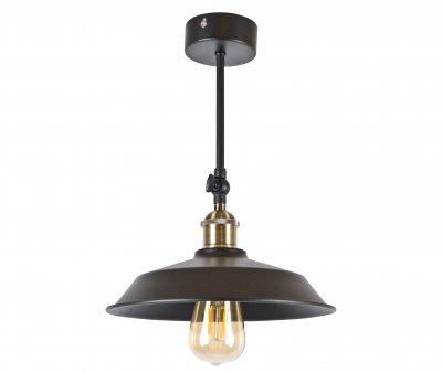 Потолочный светильник Лофт Skarlat Металл Черный Тарелка d - 260 mm (LS 8310-260-1L)