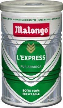 Кофе Malongo L Express молотый ж/б 250 г