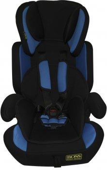 Автокрісло Happy Baby Baby Boss NE-EF-02 9-36 кг Black-blue (km9124)