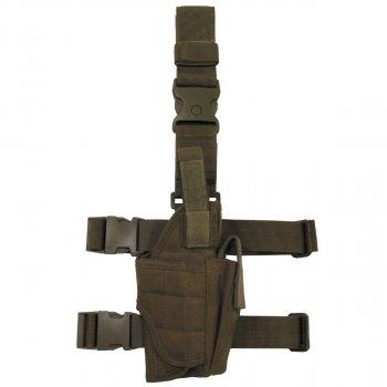 Кобура для пистолета набедренная правосторонняя регулируемая MFH койот (30710R)