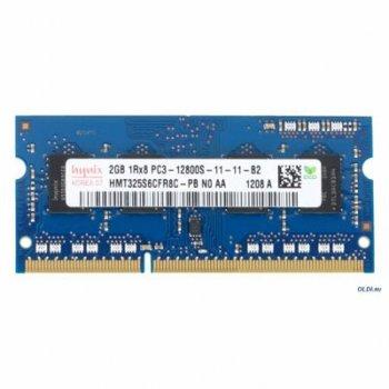 Модуль пам'яті для ноутбука SoDIMM DDR3 2GB 1600 MHz Hynix (HMT325S6BFR8C-PBN / HMT325S6CFR8C-PBN)