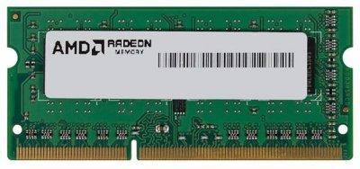 Пам'ять SoDDR3 8GB AMD 1600MHz PC3-12800 R5 Performance Series (R538G1601S2S-U)