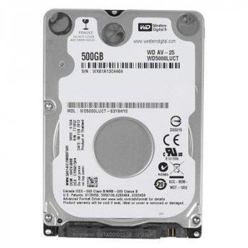 """Жорсткий диск для ноутбука 2.5"""" 500GB WD (# WD5000LUCT-FR#)"""