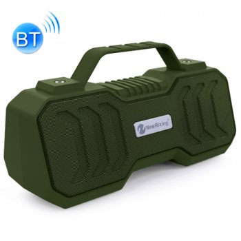 Портативная Bluetooth колонка NewRixing NR4500 Dark green (27880)