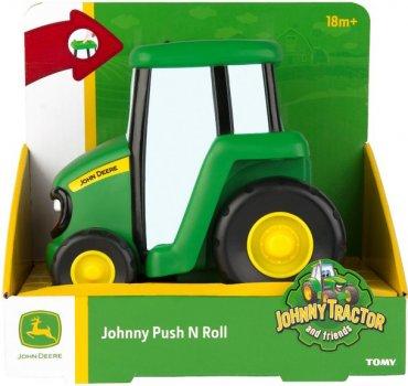 Игрушка инерционная Tomy John Deere Трактор Джонни (42925V) (36881429258)