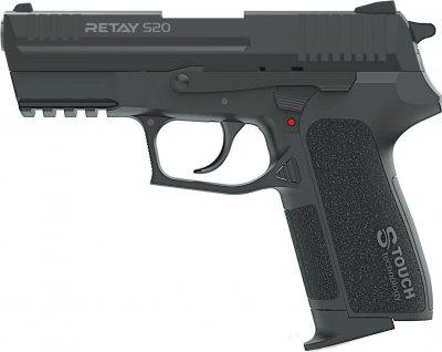 Пістолет стартовий Retay S20 9 мм Чорний (11950615)
