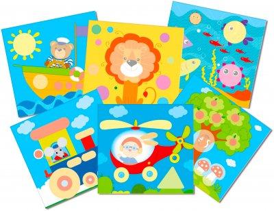 Гра Vladi Toys Веселі картинки магнітна Укр (VT5422-06) (4820195056820)
