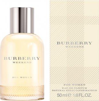 Парфюмированная вода для женщин Burberry Weekend For Woman 50 мл (5045252667514/3614227748323)