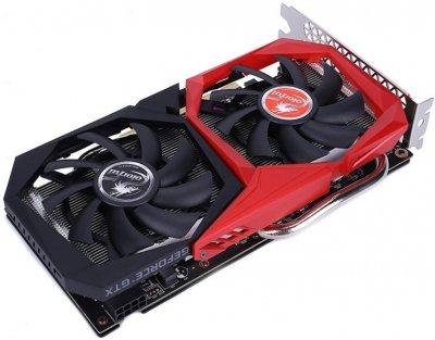 Colorful PCI-Ex GeForce GTX 1660 Super 6GB GDDR6 (192bit) (1530/14000) (DVI, HDMI, DisplayPort) (GTX 1660 SUPER NB 6G-V)