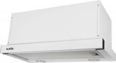 Витяжка VENTOLUX GARDA 60 WH (1000) LED