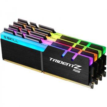 Оперативная память G.Skill DDR4 3000MHz 32GB (2x16GB) Trident Z RGB (F4-3000C16D-32GTZR)