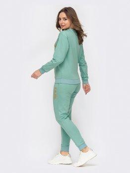 Спортивный костюм Dressa 52944 Зеленый