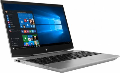 Ноутбук HP ZBook 15v G5 (4QH39EA) Turbo Silver