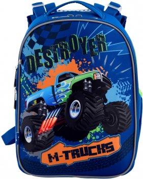 Рюкзак школьный YES H-25 мужской 0.85 кг 28x37x16 см 15 л M-Trucks (556187)