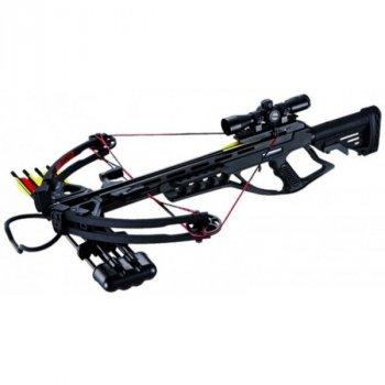 Арбалет Man Kung MK-XB55BK-KIT Блочный, винтовочного типа, пластик. приклад