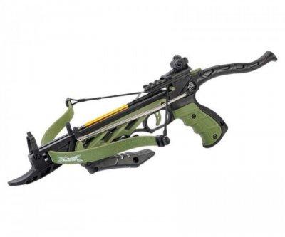 Арбалет Man Kung MK-TCS1-G , Рекурсивный, пистолетного типа, ц:зеленый