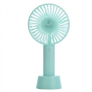 Портативний ручний вентилятор Memos handy mini fan блакитний