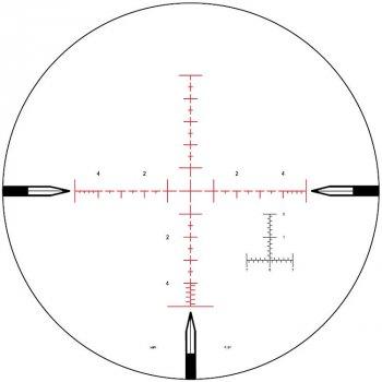 Приціл Nightforce ATACR 5-25x56 F1 ZeroS 0.1 сітка Mil Mil-R з підсвітленням (2375.00.70)