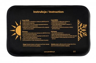 Компресc гелевый для теплой и холодной терапии Qmed Hot Cold Pack 20 см х 30 см