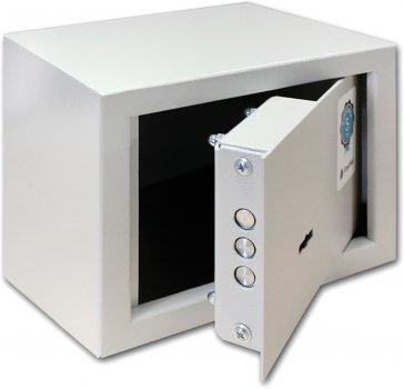 Сейф мебельный SteelNet SN-МС-15К-7035