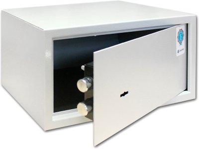 Сейф мебельный SteelNet SN-МС-18К-7035