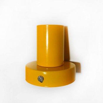 Світильник бра настінно-стельовий на 1-лампу BASE E27 помаранчевий