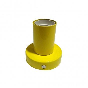 Світильник бра настінно-стельовий на 1-лампу BASE E27 жовтий