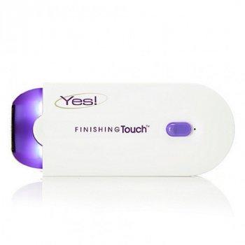 Беспроводной женский эпилятор с датчиком Plus, Finishing Touch SE Yes с щеточкой для чистки, Бело-фиолетовый