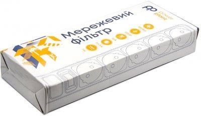Мережевий фільтр PowerPlant 7 м 5 розеток (PPSA10M70S5B)
