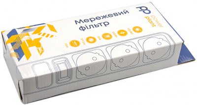 Сетевой фильтр PowerPlant 1.8 м 3 розетки (PPSA10M18S3B)