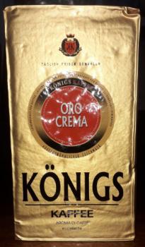 Кофе молотый KONIGS Crema 500 гр Германия