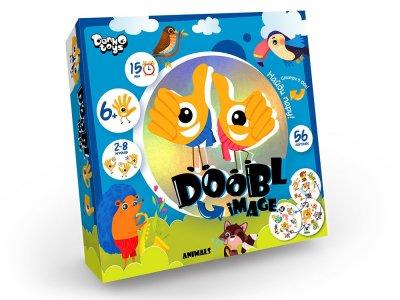 Гра настільна Danko Toys Doobl Image велика Animals (доббль, знайди пару) (Укр) (DBI-01-03)
