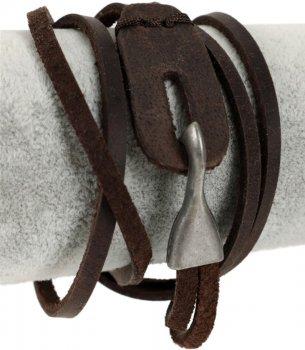 Браслет Traum 4223-18 Темно-коричневый (4820004223184)